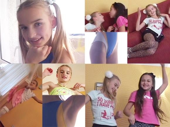 洋(loli)ロリ!!スレンダーで可愛いヨーロピアン美少女バレリアちゃんがパンチラしまくりでメロメロ♪ | ジュニアアイドル動画の館