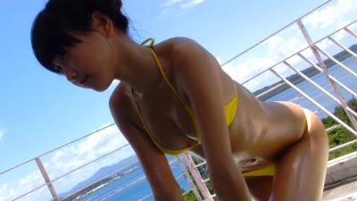 ジュニアアイドル 大空舞 沖縄と大空とYシャツ♪ ミスアテナ 2012年 Vol.4